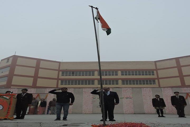 Delhi Scottish School-Events republic day