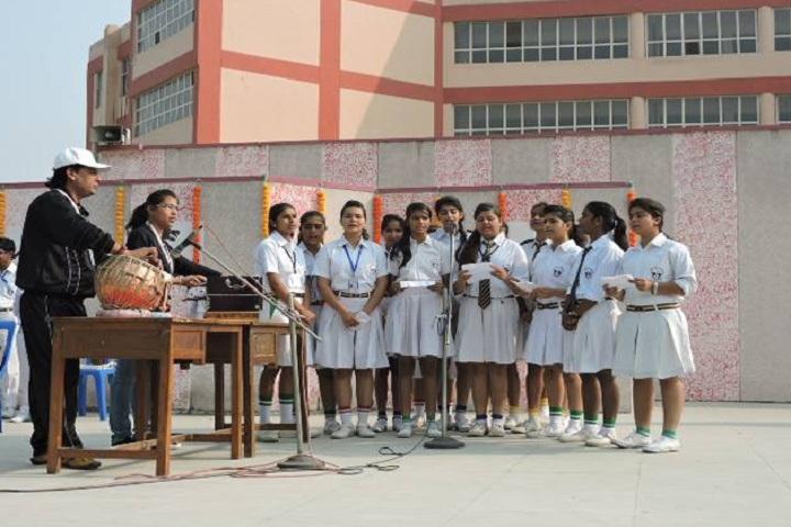 Delhi Scottish School-Events singing