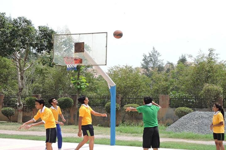 Delhi Scottish School-Sports basketball