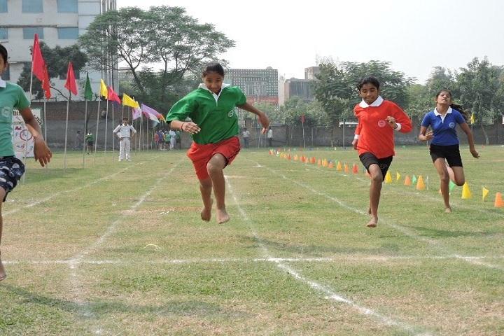 Delhi Scottish School-Sports running