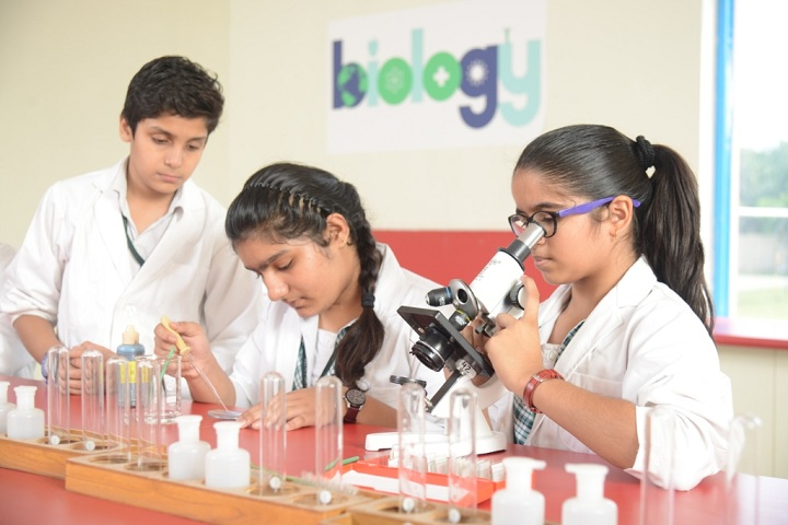 Delhi World Public School-Laboratory
