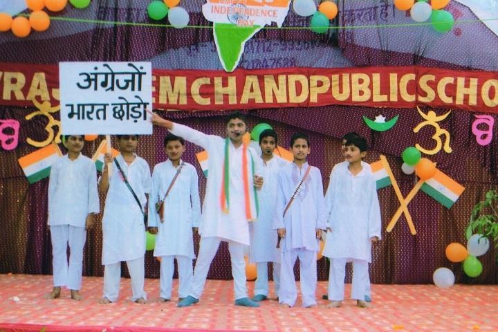 Devraji Premchand Public School-Patriotic Drama