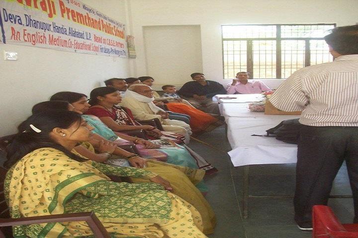 Devraji Premchand Public School-Staff Meeting