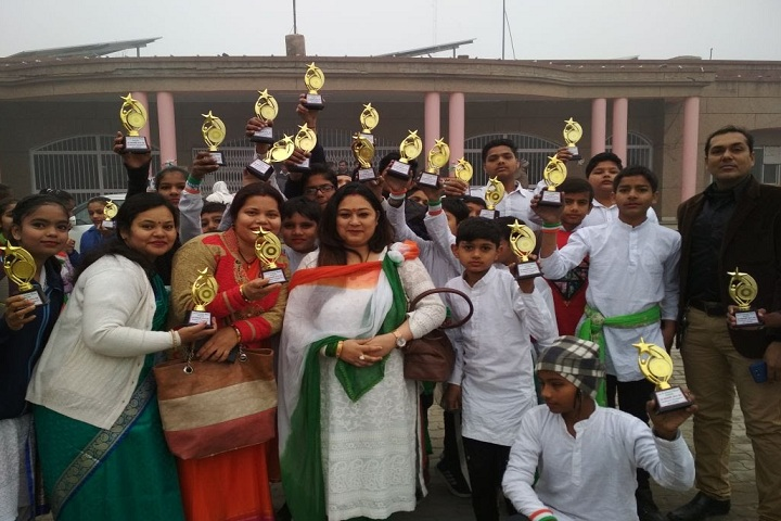Dharam Public School-Awards