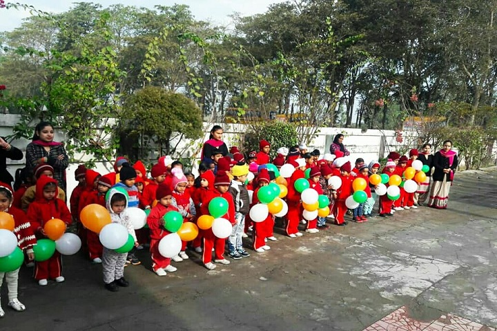 Divine International School-Patriotic Day