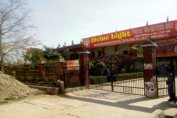 Divine Light Public Inter College-Campus-View entrance