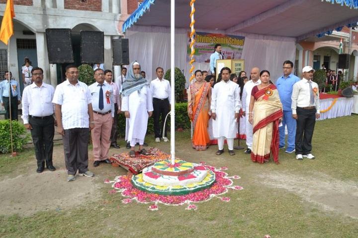Divine Sainik School-Flag Hosting