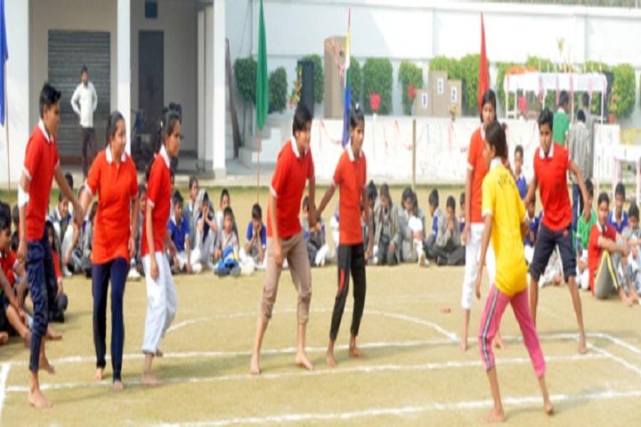 Divya Public School-Sports kabbadi