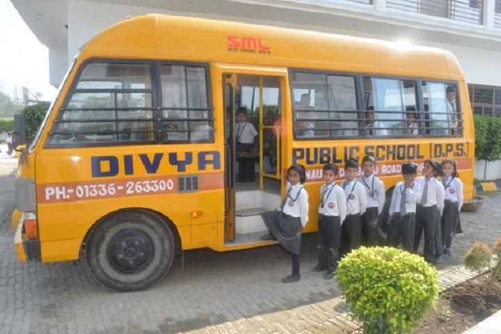 Divya Public School-Transport
