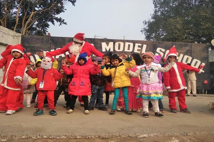 Diwakar Model School-Christmas Celebration
