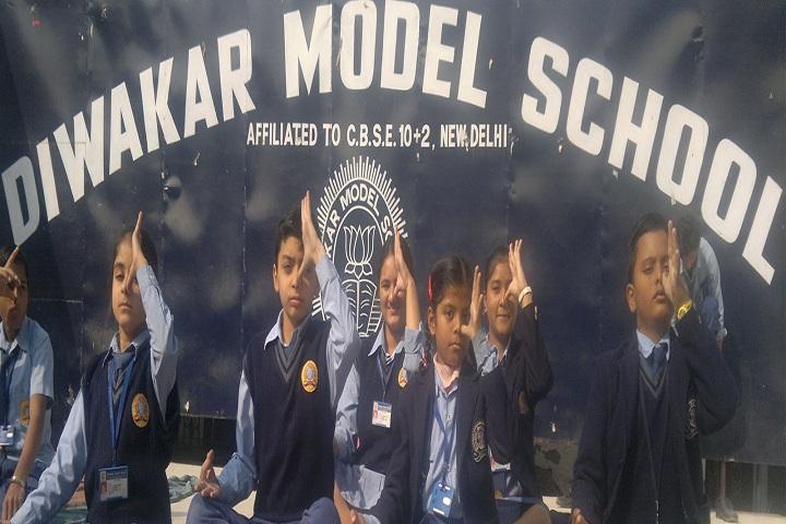 Diwakar Model School-yoga