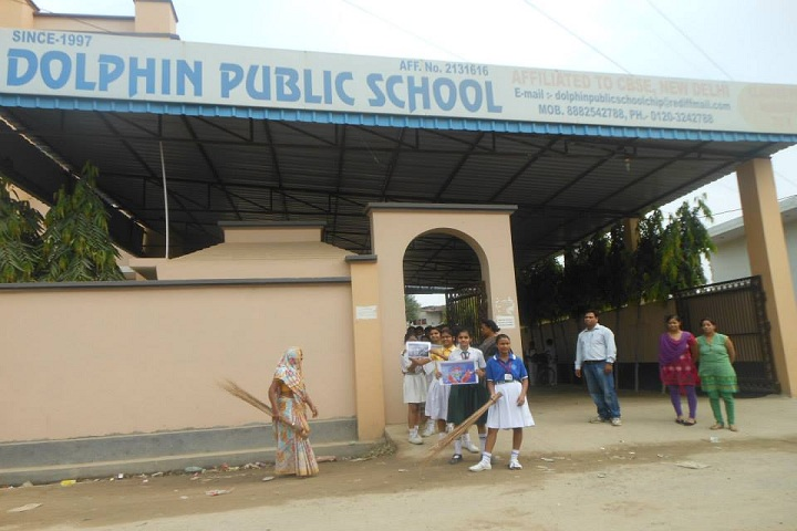 Dolphin Public School-Campus View