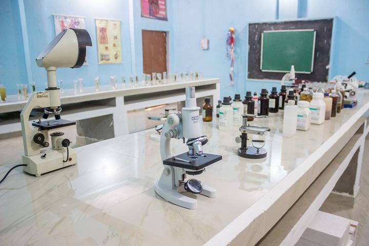 Dolphin Public School-Laboratory biology