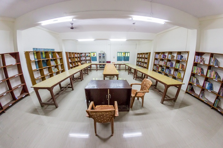 Dolphin Public School-Library with reading room
