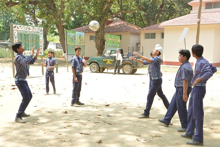 Doon International School-Sports volleyball