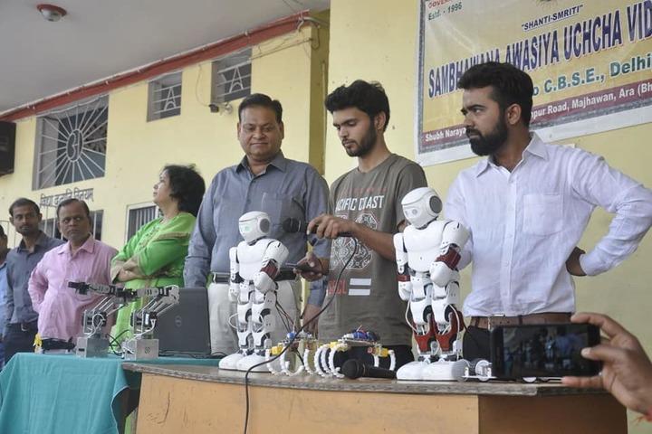 Shanti Smiriti Sambhawana Awasiva Uchh Vidyalaya-Experiment