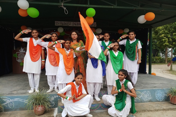 Doons Pride Public School-Patriotic Day