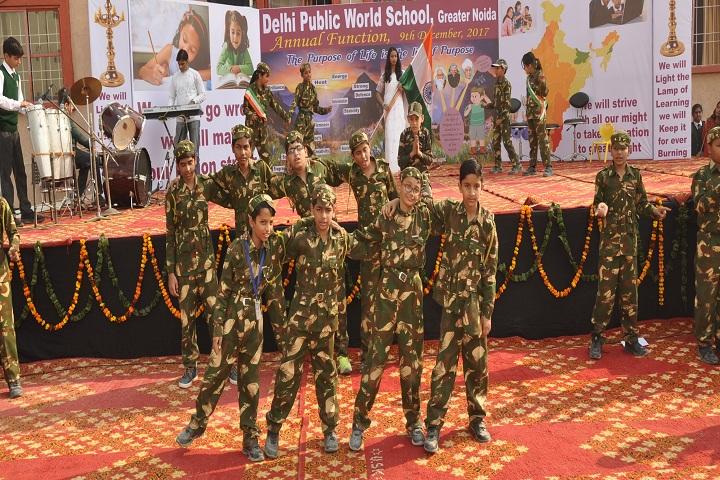DPS World School-Patriotic Drama