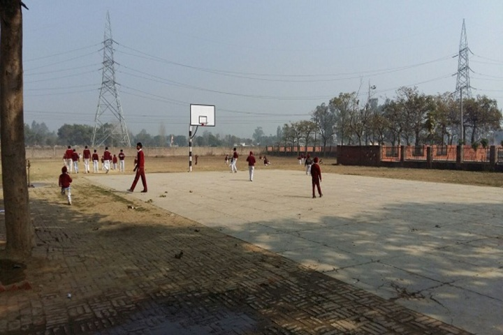 Dr Jagdish Memorial Public School-Basket Ball Court