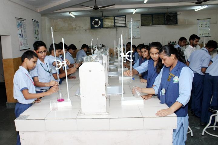 Dr K N Modi Global School-Chemistry Laboratory