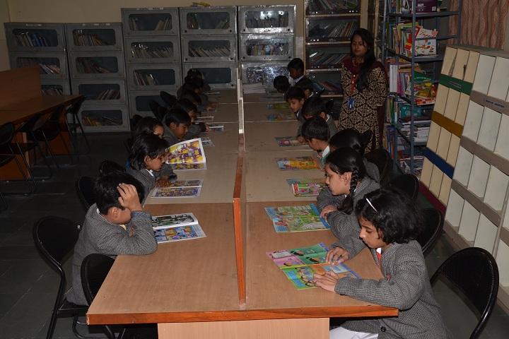 Dr K N Modi Global School-Library