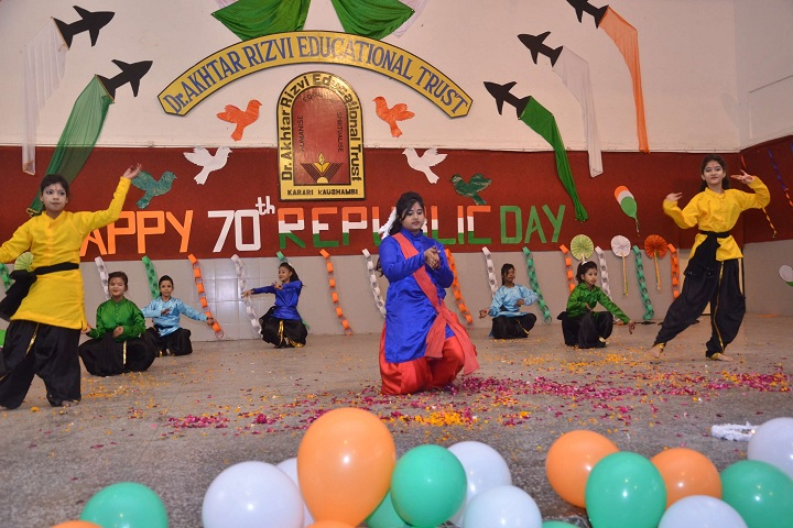 Dr Rizvi Springfield School-Republic Day