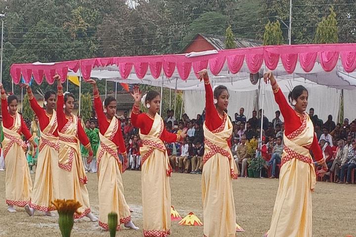 Dr Amrit Lal Ishrat Memial Sunbeam School-Events dance