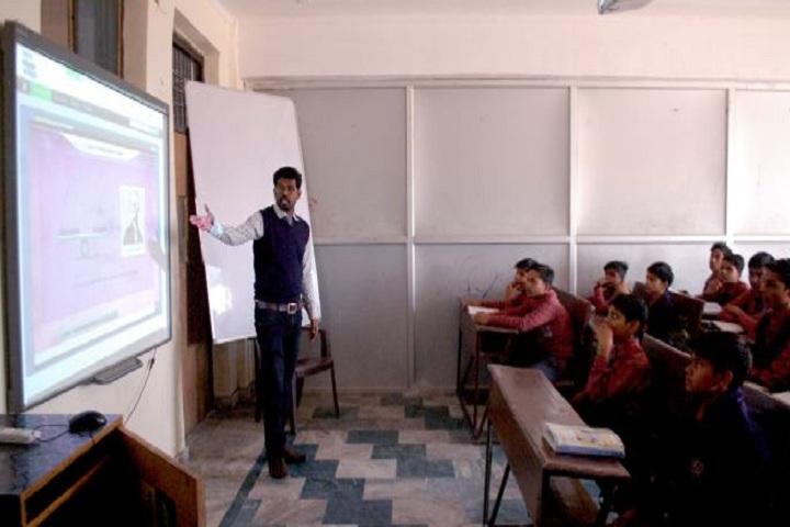 Dr Kiran Saujiya Senior Secondary Educational Academy-Classroom smart