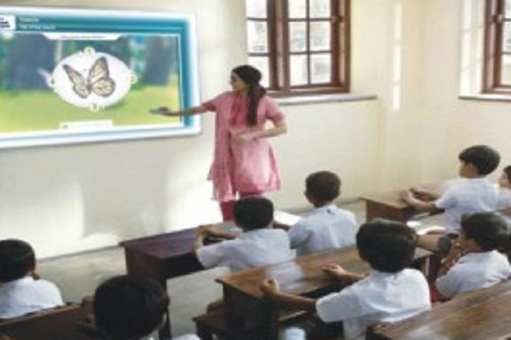 Dr MPS World School-Classroom smart