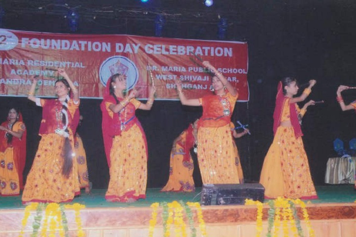 Dr Maria Residential Academy-Events function