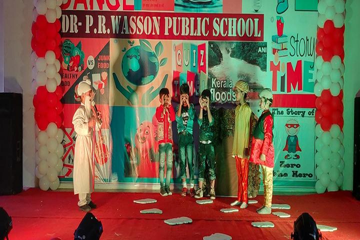 Dr Pr Wasson Public School-Events programme