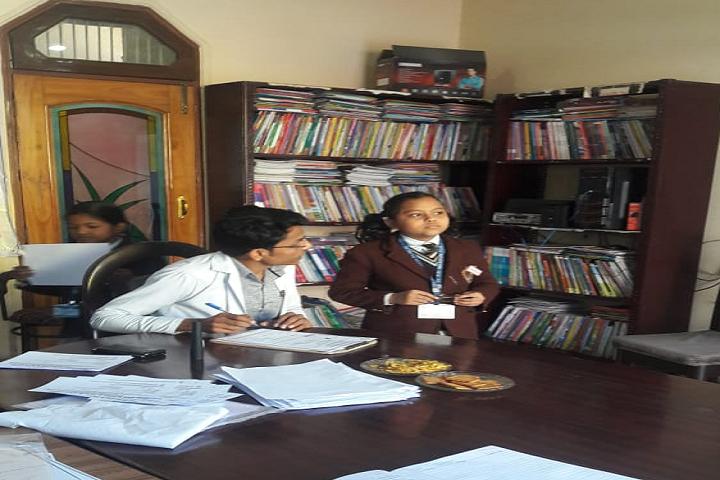 Dr Pr Wasson Public School-Library