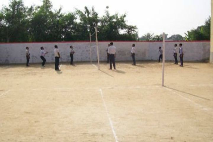 Sharada Shikshan Sansthan-School Ground