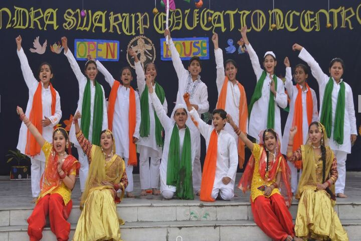 Dr Virendra Swarup Education Centre-Independence Day Celebrations