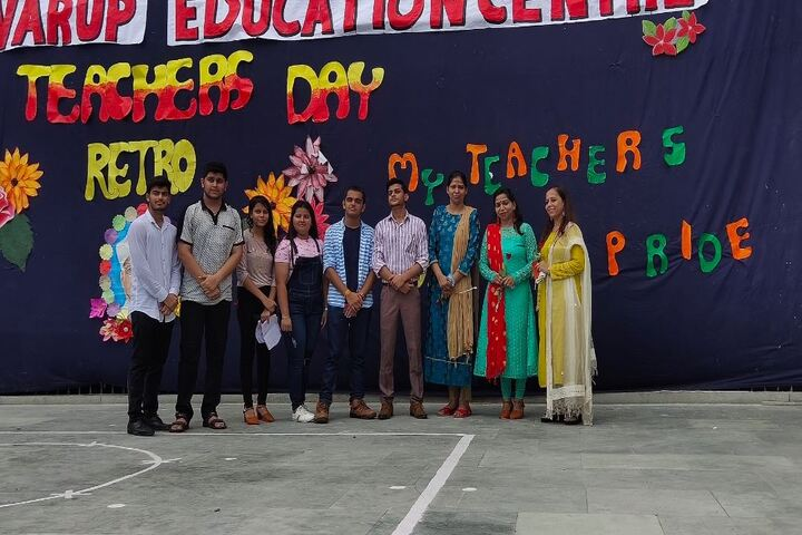 Dr Virendra Swarup Education Centre-Teachers Day