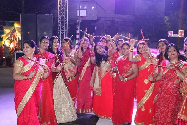 Durga Prasad Vidya Niketan-Events dandiya