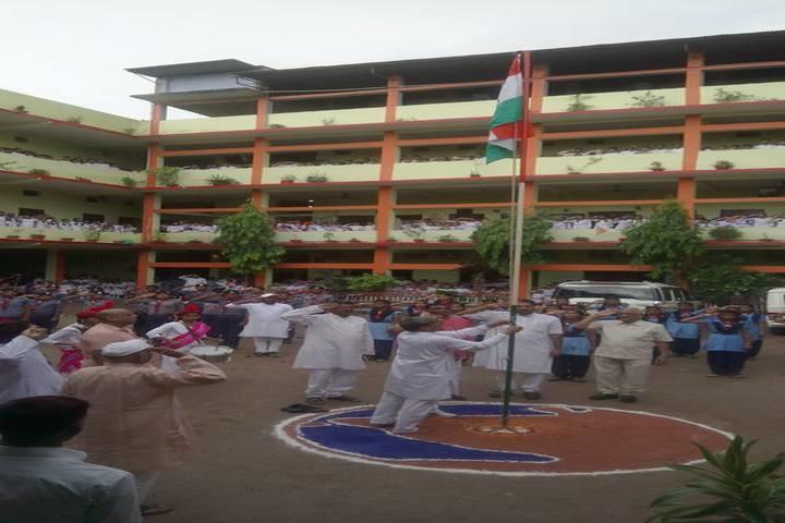 Sharshwati Shishu Vidya Mandir Chapra-Flaghost