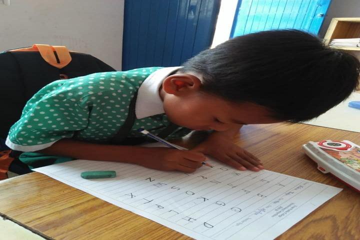 Eram Public College-Exam for preprimary children