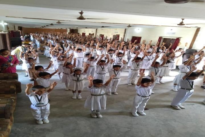 Eram Public College-Morning Assembly Excercises
