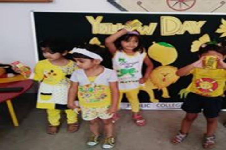 Eram Public College-Yellow Day