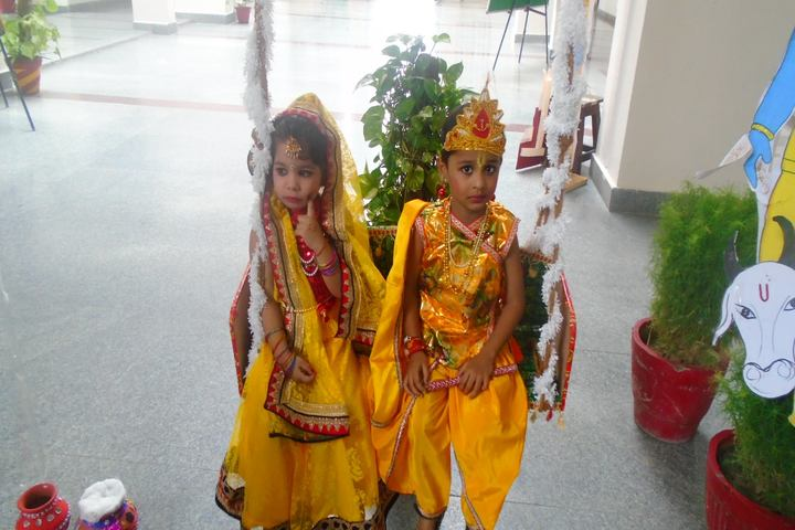 Escorts World School-Krishnastami Celebrations