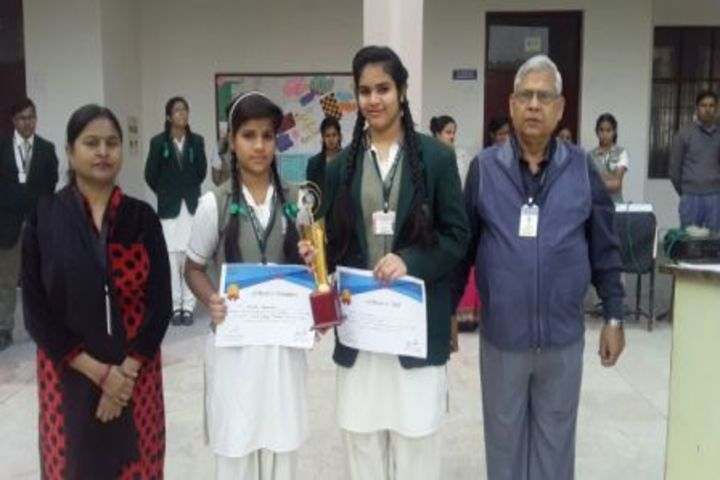Ess Ess Convent School-Competetion in GLA University
