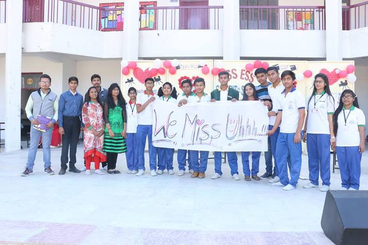 Ess Ess Convent School-Farewell day