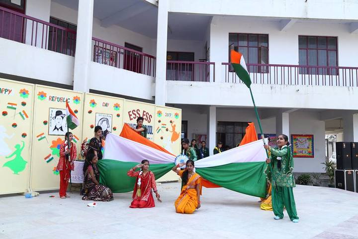Ess Ess Convent School-Republic Day Celebrations