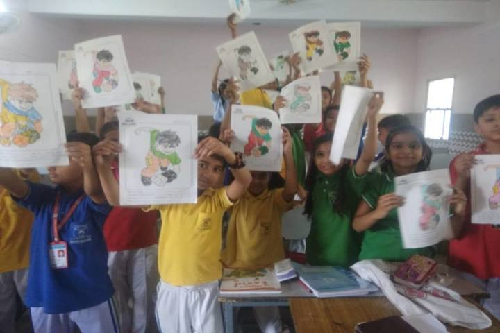 Everest Public School-Drawing Competition