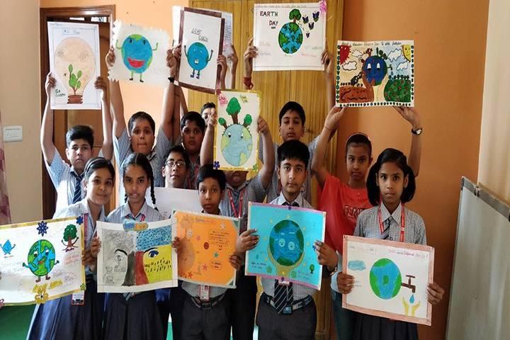 Everest Public School-Painting Competetion