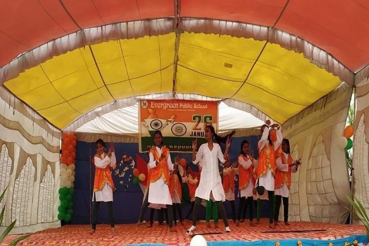 Evergreen Public School-Dance