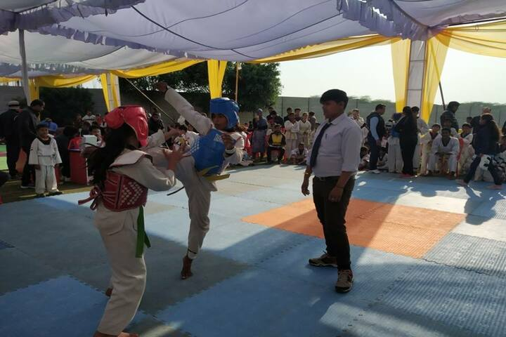 Excellia School-Interschool Taekwondo Championship at Excellia