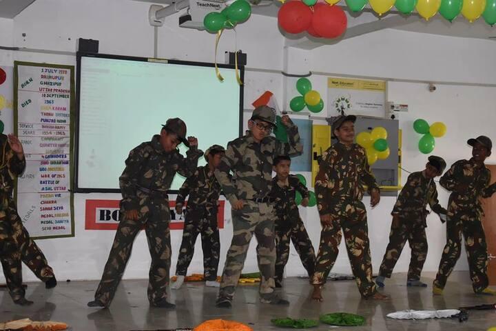 Faizabad Public School-Army dance