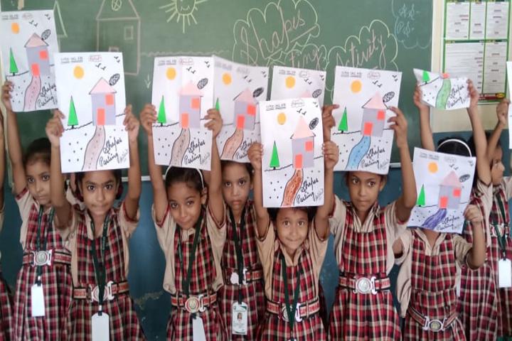 Fatima Leyan Public School-Card Making